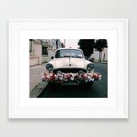 cuba Framed Art Prints featuring cuba by Love Improchori