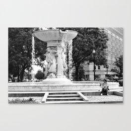 D.C. Fountain Canvas Print
