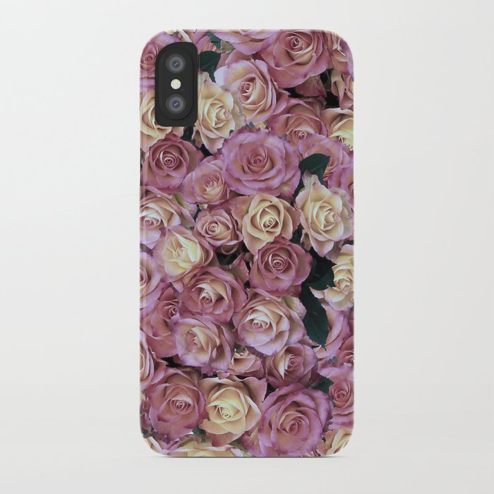 Bed of Roses iPhone Case