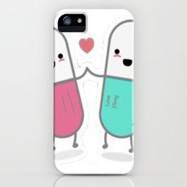 Cute pills iPhone Case