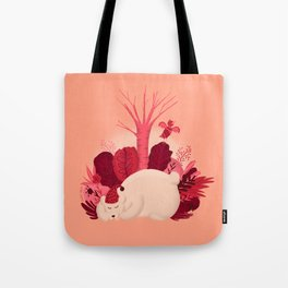 Sleepy Bear Tote Bag