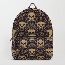 Punk Rock Skull Pattern Backpack