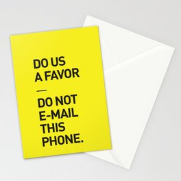 Save the planet. Stationery Cards