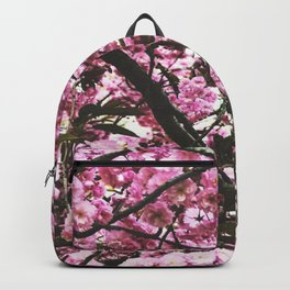 pink blossom 2 Backpack