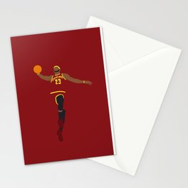 NBA Players   Lebron Dunk Stationery Cards