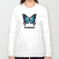 friendship Long Sleeve T-shirts featuring Friendship by Jinventure