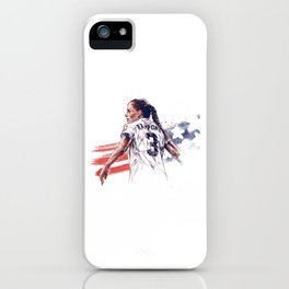 Christie Rampone iPhone Case