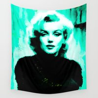 marilyn Wall Tapestries featuring Marilyn *** by Mr and Mrs Quirynen