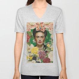 Frida Kahlo IV Unisex V-Neck