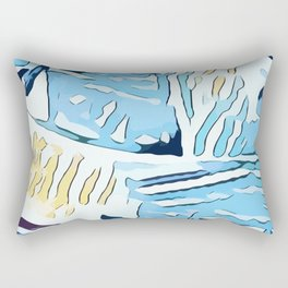 Water Nips Rectangular Pillow