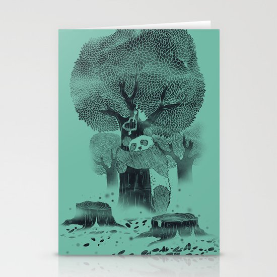 The Tree Hugger Stationery Cards