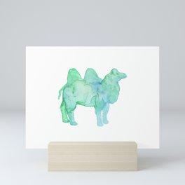 Les Animaux: Bactrian Camel Mini Art Print