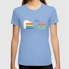 Rainbow Cake VS Kueh Lapis T-shirt