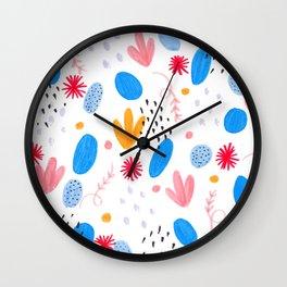 Pattern nº1 Wall Clock