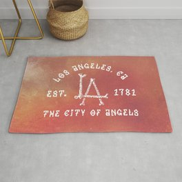 The City of Angels Rug