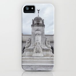 Amtrak terminal (train station) - Washington D.C iPhone Case