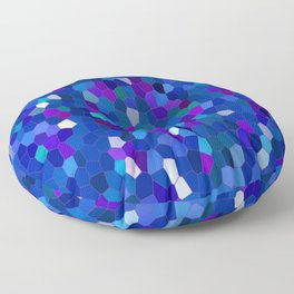 Geometrically mosaically speaking... Floor Pillow