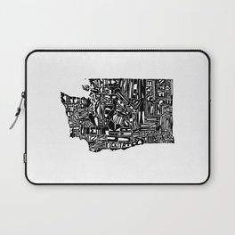 Typographic Washington Laptop Sleeve