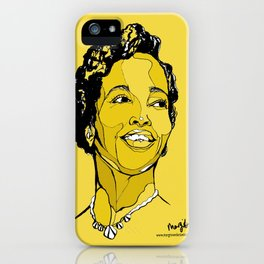 Dorothy Ashby harpist iPhone Case