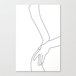 Intimacy Canvas Print