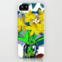 A  Daffodil Day        by Kay Lipton iPhone Case