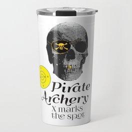 Pirate Archery - X Marks the Spot Travel Mug