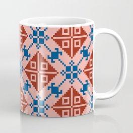Folk Pattern Coffee Mug