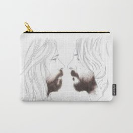Beards Carry-All Pouch