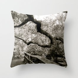 Bridge to ______ Throw Pillow
