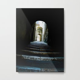 Corridoio Metal Print