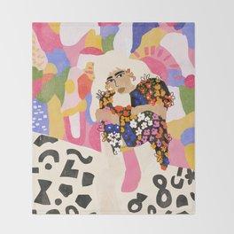 World Full Of Colors Throw Blanket