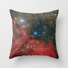 Star Cluster NGC 6604 Throw Pillow