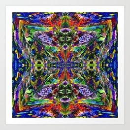 Pattern-298 Art Print