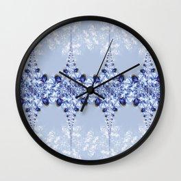 Pattern lightblue Wall Clock