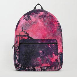 building watercolor city Backpack