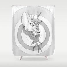 Cervidae Shower Curtain