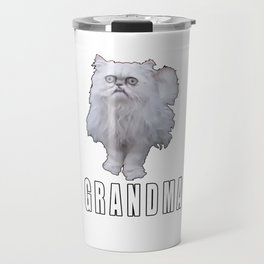 This Stray Cat Looks Like Grandma - Meme Travel Mug