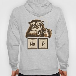 Chemistry sloth discovered nap Hoody