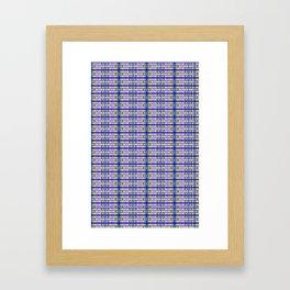 geometrik Framed Art Print