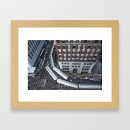 'L'evated Train Framed Art Print