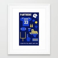 friday night lights Framed Art Prints featuring FRIDAY NIGHT LIGHTS by Anthony Morell