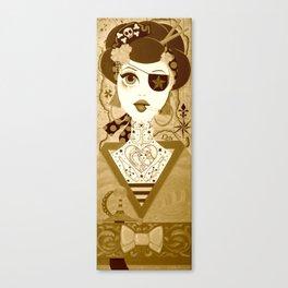 Pirate Geisha Canvas Print