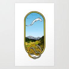 Flip Fantasia. Art Print