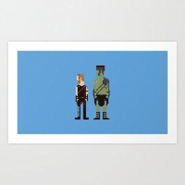 Friends From Work Art Print