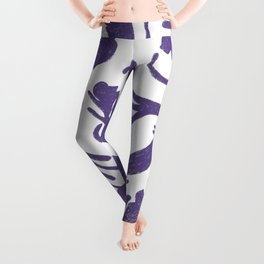 Ultra Violet Cats Leggings
