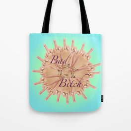 Bad Bitch - azure Tote Bag