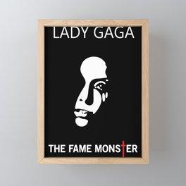 The Fame Monster Framed Mini Art Print