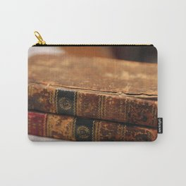 Antique Books Carry-All Pouch