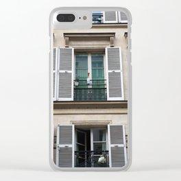 Parisian Flats Clear iPhone Case