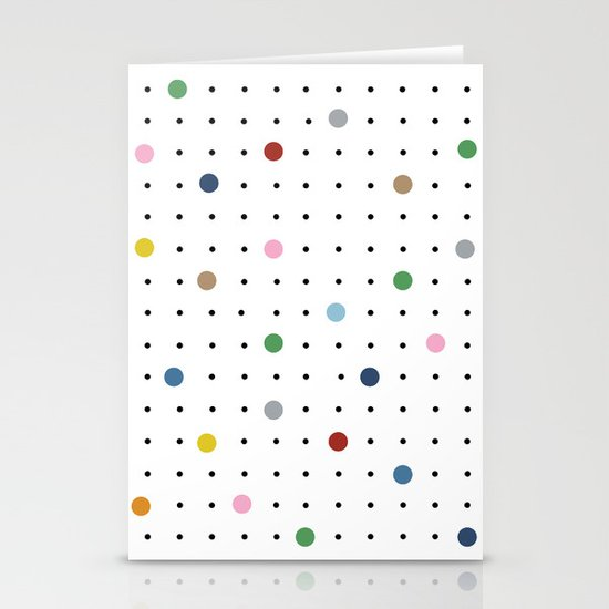 Pin Points Stationery Cards